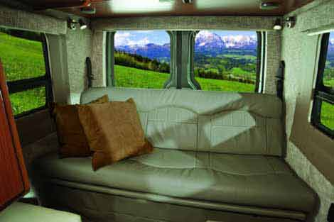 Sprinter camper van by Winnebago