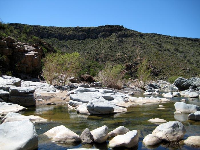The beautiful Agua Fria River