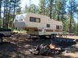 Picture of RV Camping East of Apache Maid Mountain near Stoneman Lake, Arizona