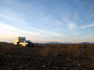 Free RV campsites near Gila Bend, Arizona