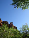 Picture of Red Tank Draw With Lush Green Growth Near Sedona, Arizona