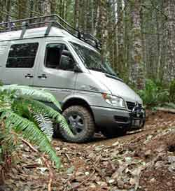 Sprinter RV 4X4 Conversion by The Sprinter Store