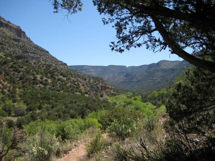 Hiking the West Clear Creek Trail