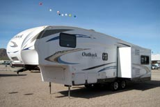 NADA RV values for fifth wheels
