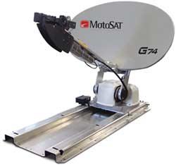 RV Satellite Internet - MotoSAT DataStorm G74