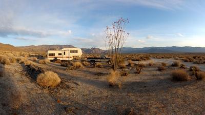 RV Camping near Borrego Springs