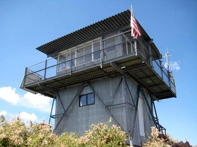 Kendrick Peak Fire Lookout Tower