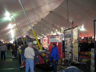 The RV Show under the Big Tent  at Tyson Wells