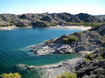 Cove north of camping area on Lake Mohave