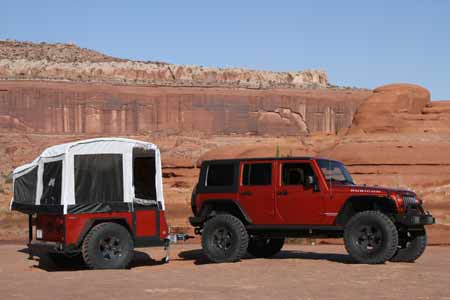 Off-Road Camper Trailer