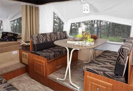 Pop-Up Camper with Dinette Slide-Out