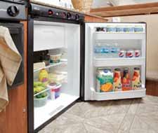 Pop-Up Camper refrigerator