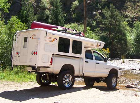 Pop-Up Truck Camper