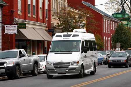 Rent a Motorhome Class B (Van Camper)