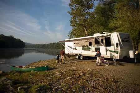Rent a RV Travel Trailer