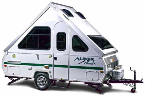 Small RV - A-Frame Camper by Aliner