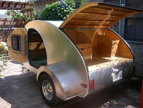 Small RV - Camp-Inn Teardrop Trailer
