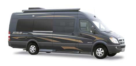 Small RV - Class B Motorhome courtesy of Winnebago