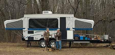 Toy Hauler Pop-Up Camper