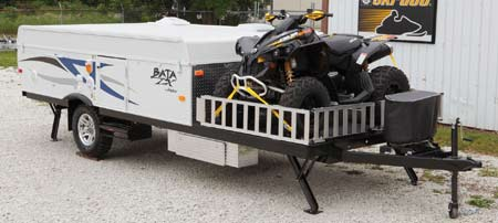 ... are easy to tow/easy on MPG and they have plenty of room for us as we spend most of the time outside. They have all sorts of toy hauler pop up models. & Toy Hauler type travel trailers - advice from owners? - The Hull ...