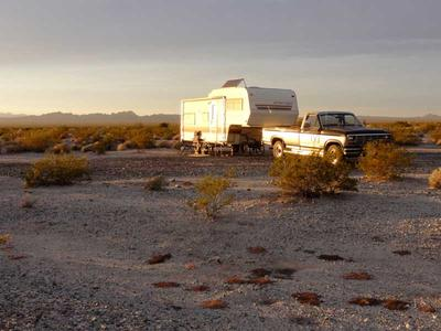 RV Camping off Turtle Mountain Road