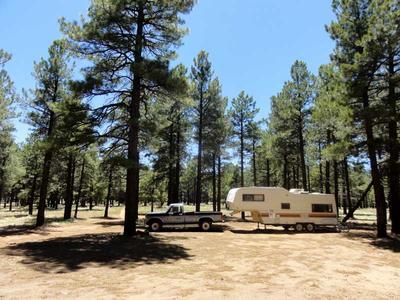 RV Boondocking near Walker Hill in the Coconino National Forest