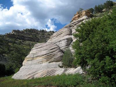 Beautiful Coconino Sandstone at Walnut Canyon National Monument