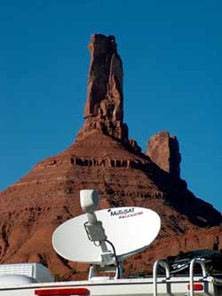 RV Satellite Internet - MotoSAT