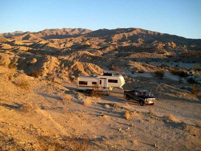 RV Camping at Arroyo Salado Campground