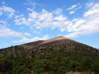 Sunset Crater in Sunset Crater National Monuemnt