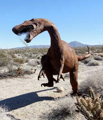 Utahraptor at Borrego Springs