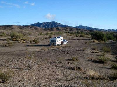 RV Camping off Swansea Mind Road