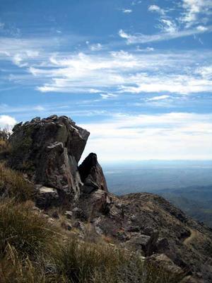 View from Harquahala Peak