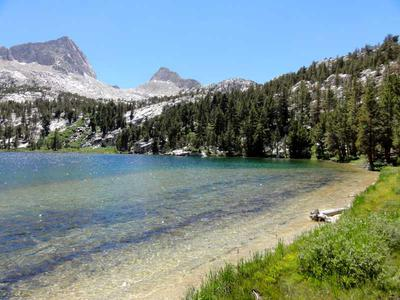 Honeymoon Lake in John Muir Wilderness