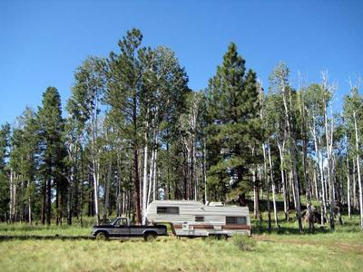 RV Camping just Southeast of Kendrick Mountain
