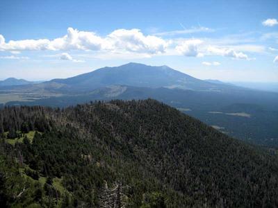 View of San Francisco Mountain From Kendrick Peak