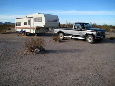 La Posa South Long Term Visitor Area at Quartzsite, Arizona