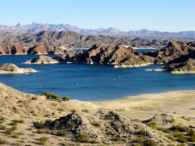 Lake Mohave from Nevada Telephone Cove