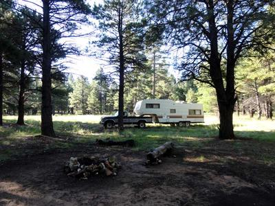 RV Camping east of Priest Draw