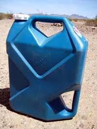 7 gallon jug to carry extra water when RV boondocking