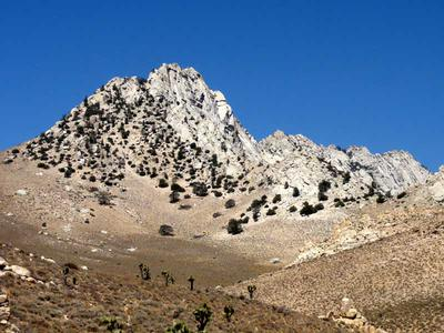 The Sierra Nevada Mountains from Short Canyon Trail
