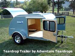 Small RV - Teardrop Trailer by Adventure Teardrops