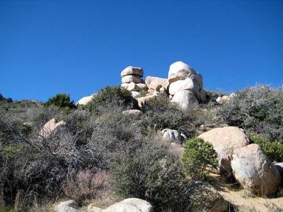 White rocks among the Black Hills