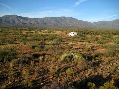 RV camping on the other side of Hwy 260 off Forest Road 361