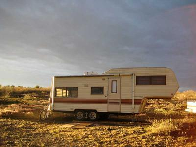 RV camping off Bull Pen Road